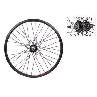 Wheel Master Alloy Bolt-On Rear Bicycle Wheel - Black, 20in x 1.75in