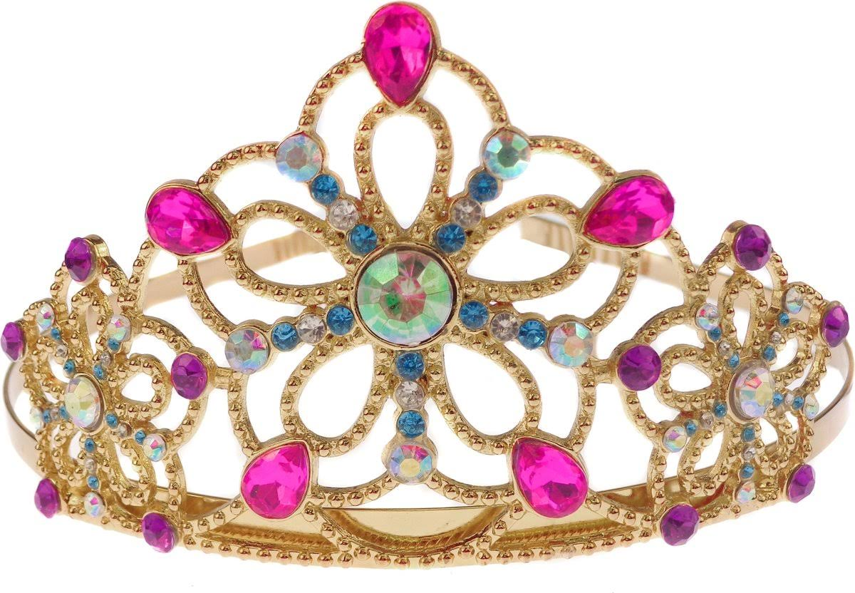 Bejeweled Gold Tiara