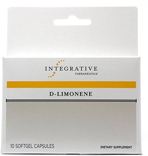 Integrative Therapeutics D Limonene Dietary Supplement - 10 Softgel Capsules