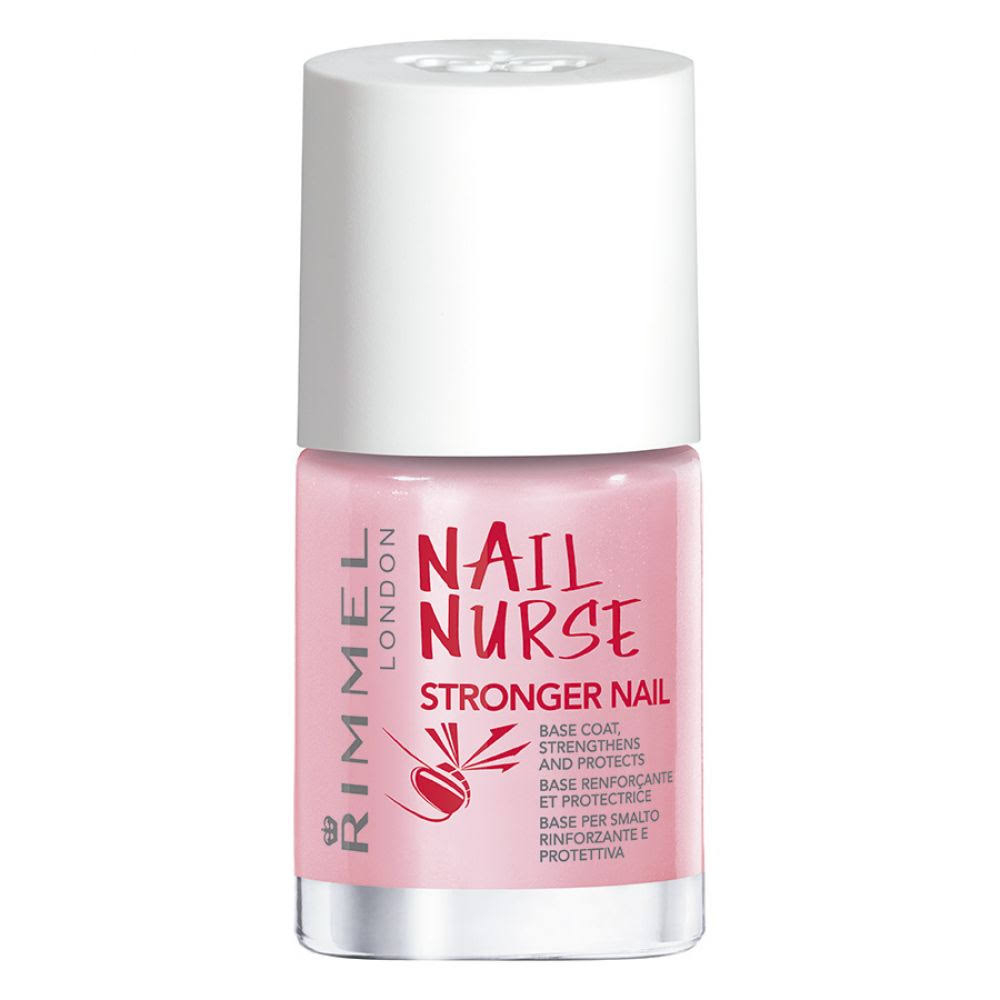 Rimmel Stronger Nail Nurse Base Coat Nail Polish - 12ml