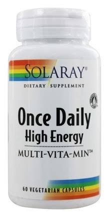 Solaray Once Daily High Energy Multivitamins - 60 Capsules