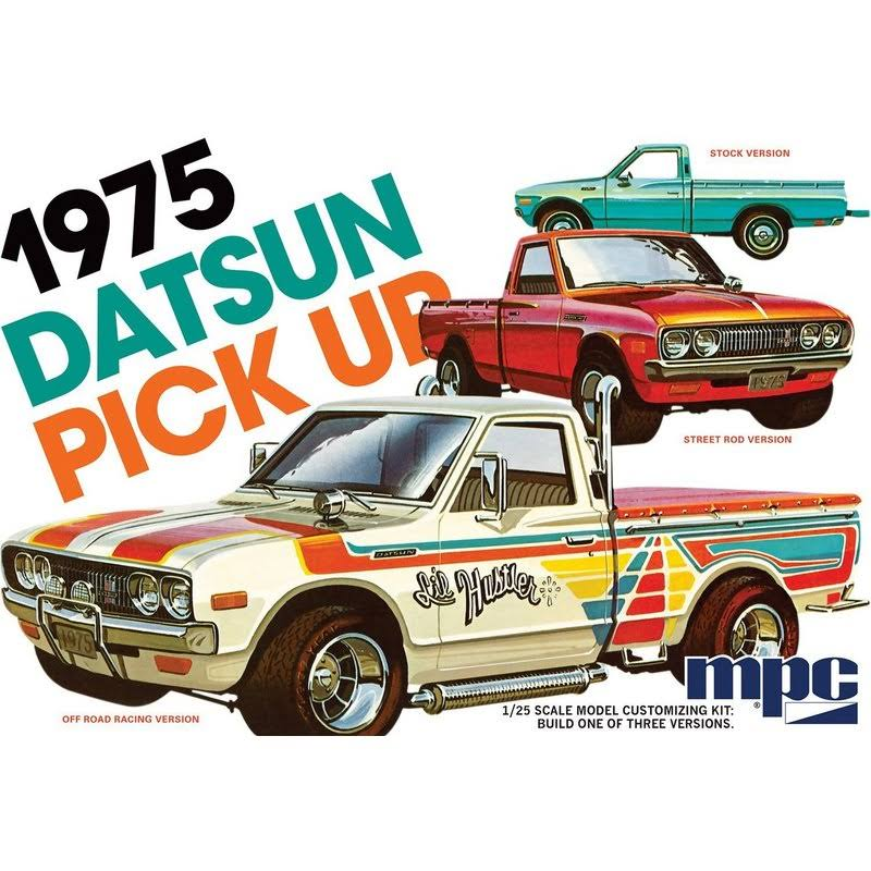 MPC Mpc872 1975 Datsun Pickup Truck Plastic Model Kit