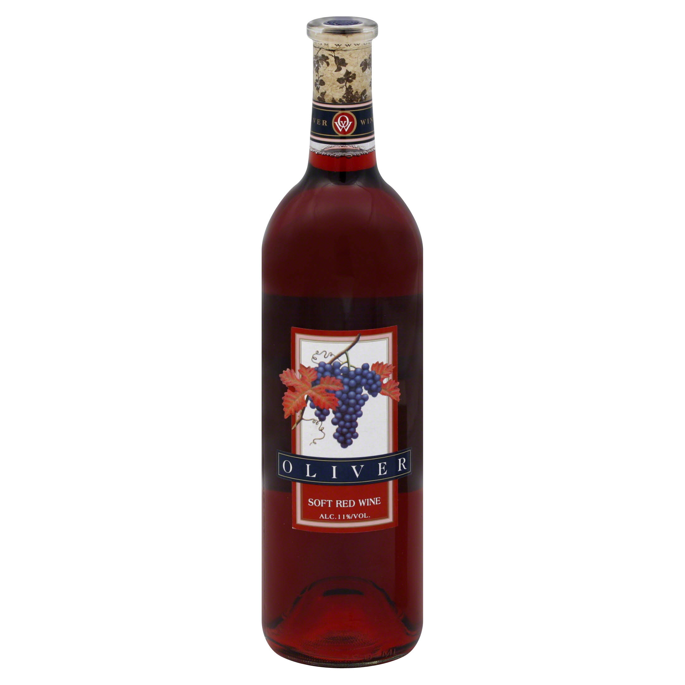 Oliver Soft Red Wine - 750ml