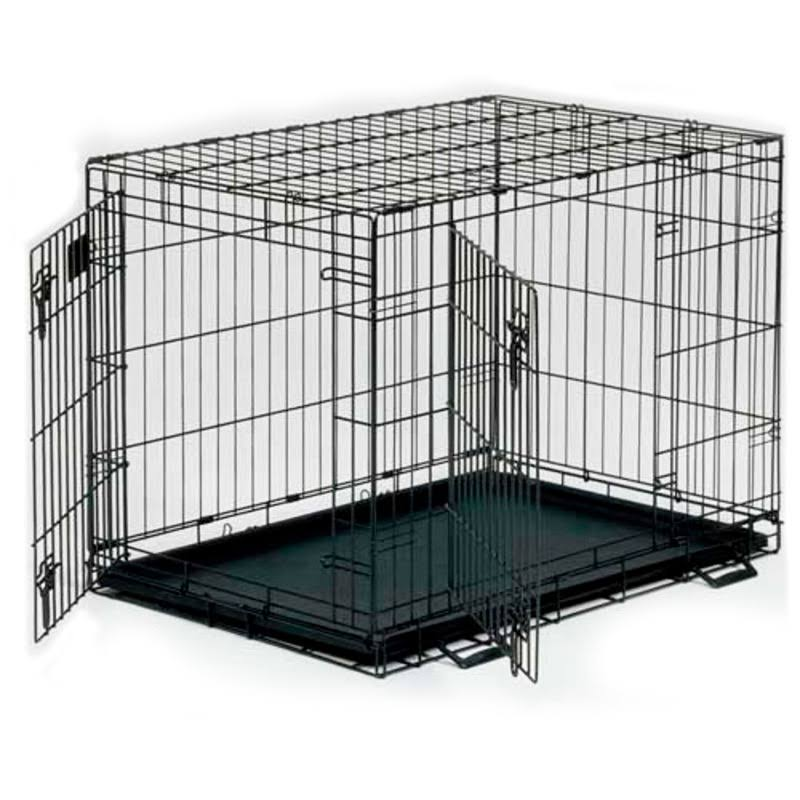 "Midwest Life Stages Double Door Dog Crate - 36"" x 24"" x 27"""