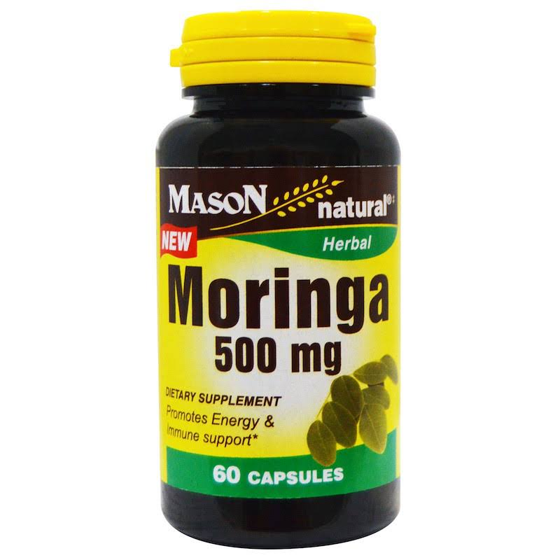 Mason Natural Herbal Moringa - 500mg, x60