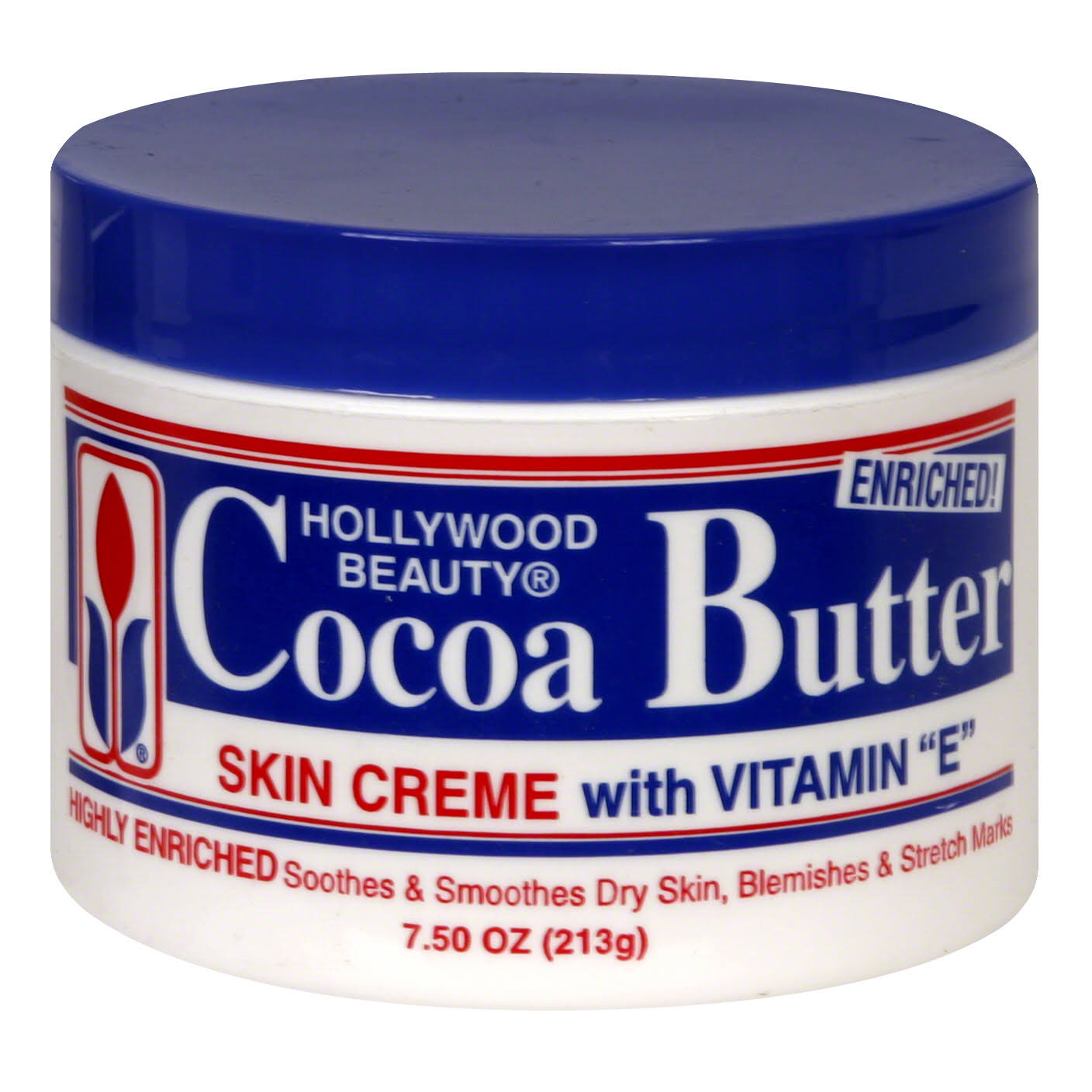 Hollywood Beauty Cream - Cocoa Butter, 7.5oz
