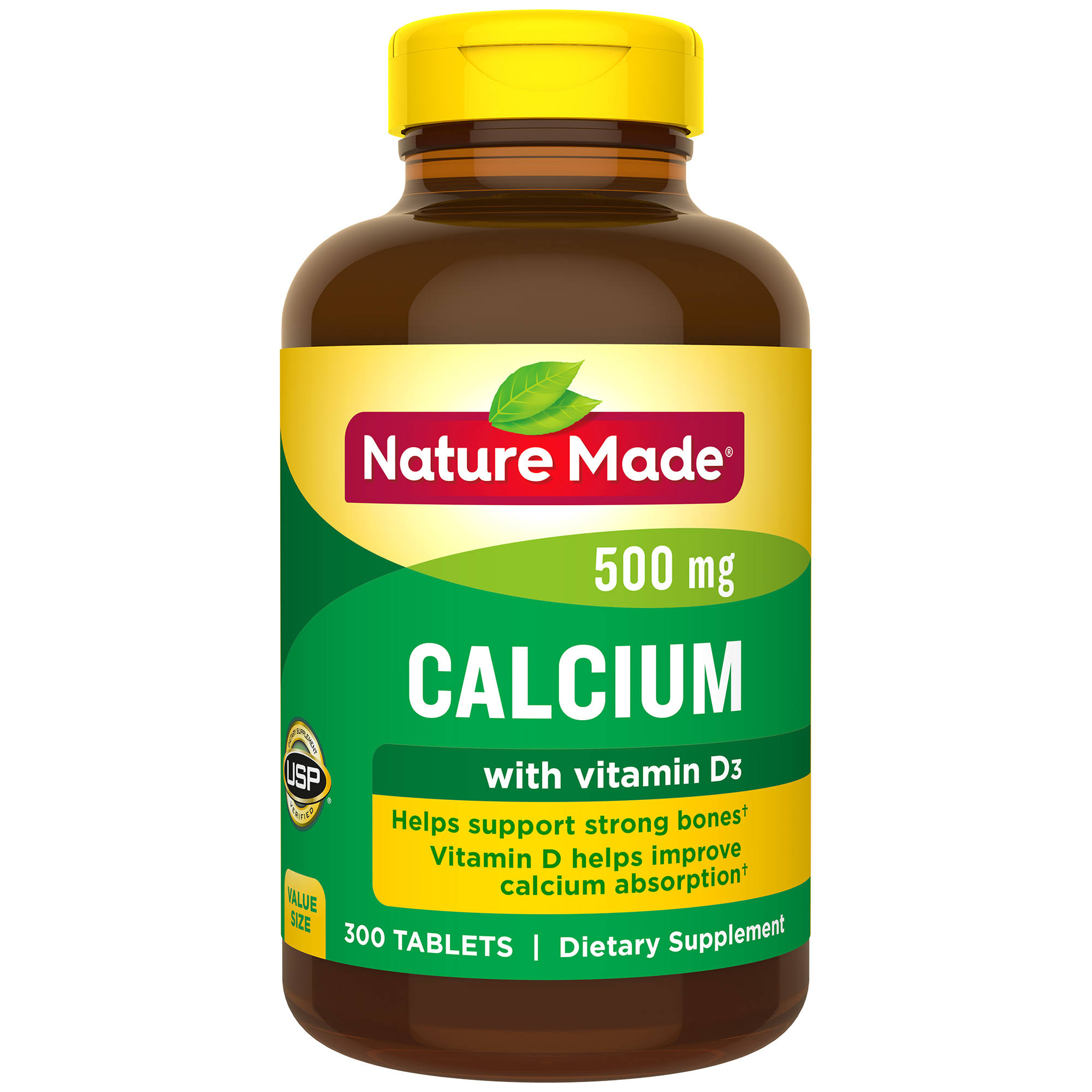 Nature Made Calcium Dietary Supplement - 300 Tablets
