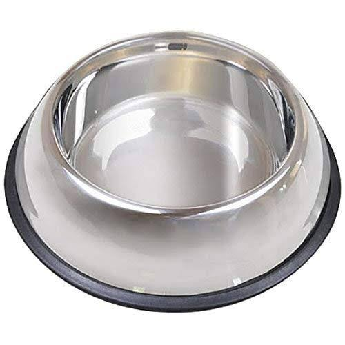 Van Ness Non Tip Dish - Stainless Steel, 64oz