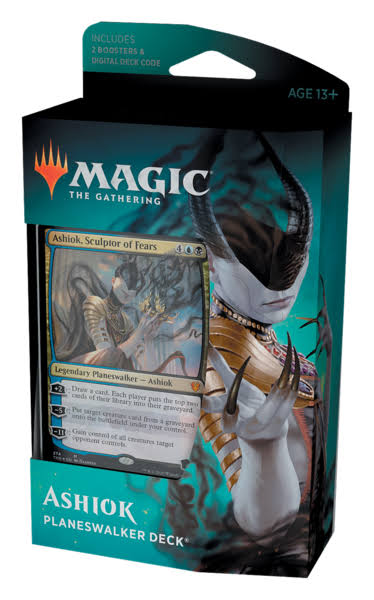 Magic The Gathering Theros Beyond Death Planeswalker Decks Ashiok