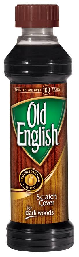 Old English Dark Woods Scratch Cover - 8oz