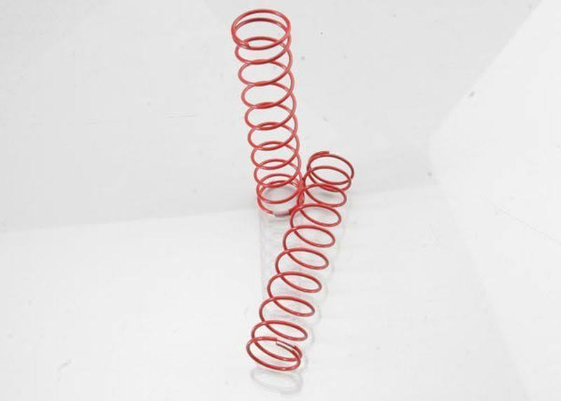 Traxxas 3757R Springs Rear - Red, x2