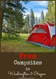 Pumpkin Patch North Bend Oregon by Free Camping Washington And Oregon Sites You Can Stay At For