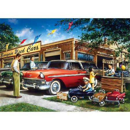 Master Pieces Childhood Dreams Cars Jigsaw Puzzle - 1000pcs