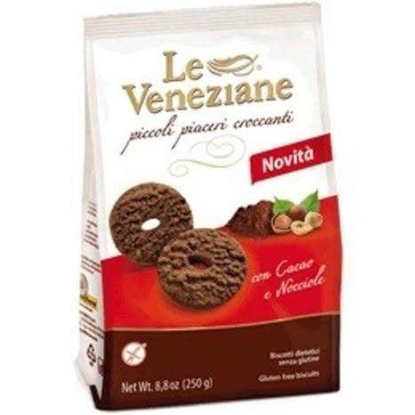 Gluten Free Cookies with Chocolate & Hazelnut by Le Veneziane