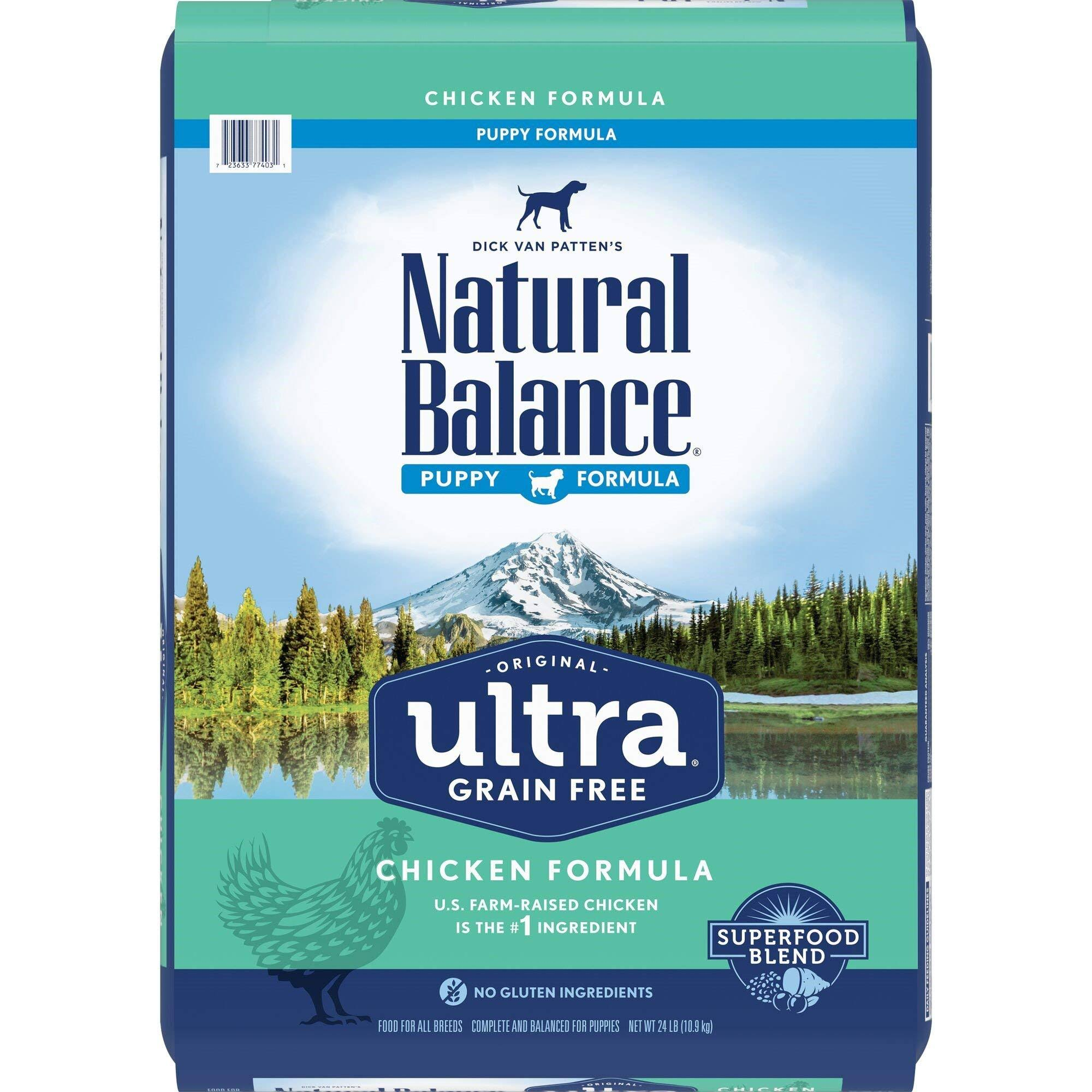 Natural Balance Original Ultra Grain Free Puppy Recipe with Chicken Dry Dog Food 24-lb