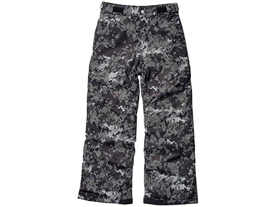 Columbia Youth Ice Slope II Insulated Pants, Size: Large, Black