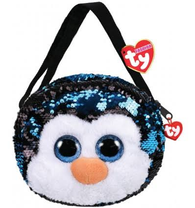 Ty Fashion Waddles Penguin Sequin Purse