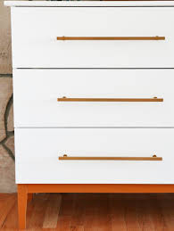 Ikea Tarva 6 Drawer Dresser by Mid Century Modern Dresser Diy From Ikea Hack