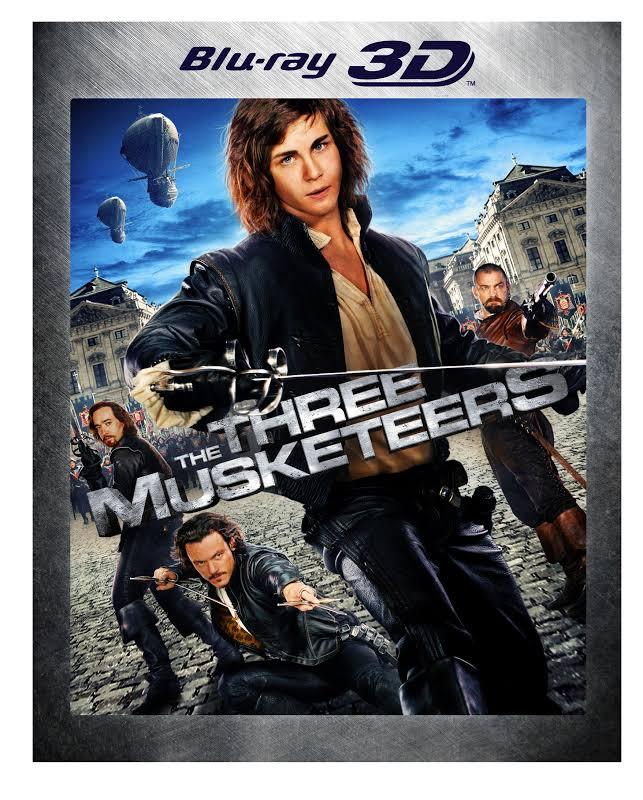 The Three Musketeers - BLU-RAY