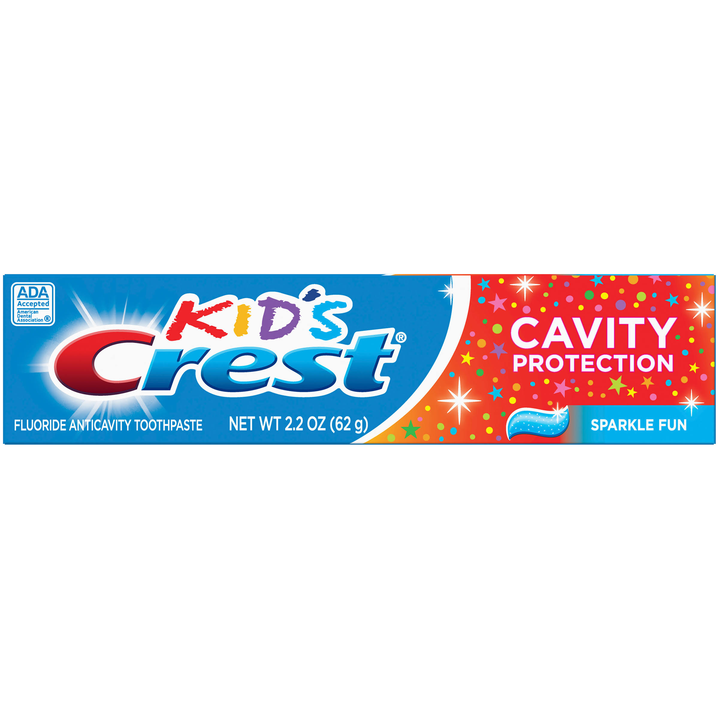 Crest Kid's Cavity Protection Toothpaste, Sparkle Fun, 2.2 oz