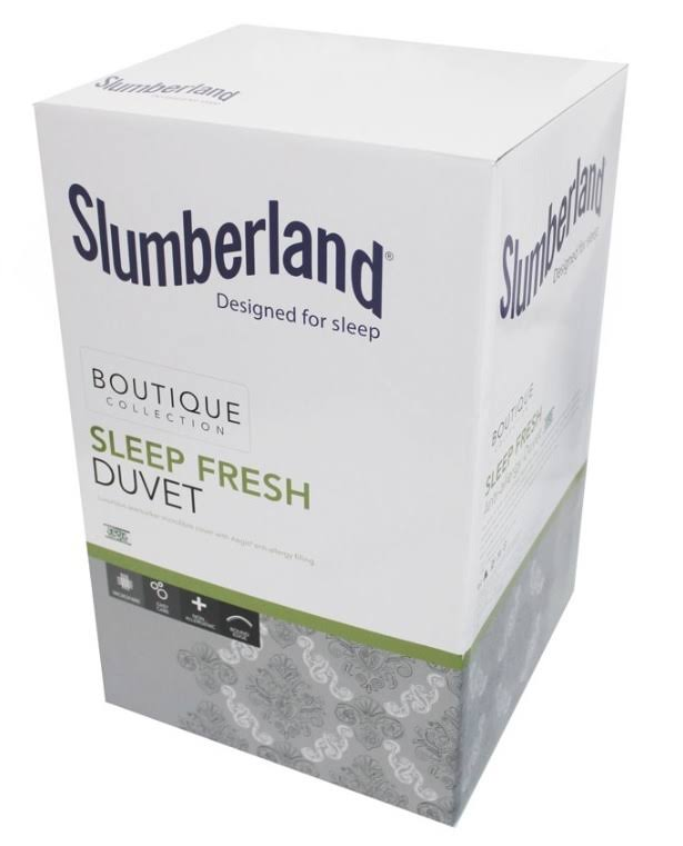 Slumberland Anti Allergy Duvet 10.5 Tog Sleep Fresh - Size: DB