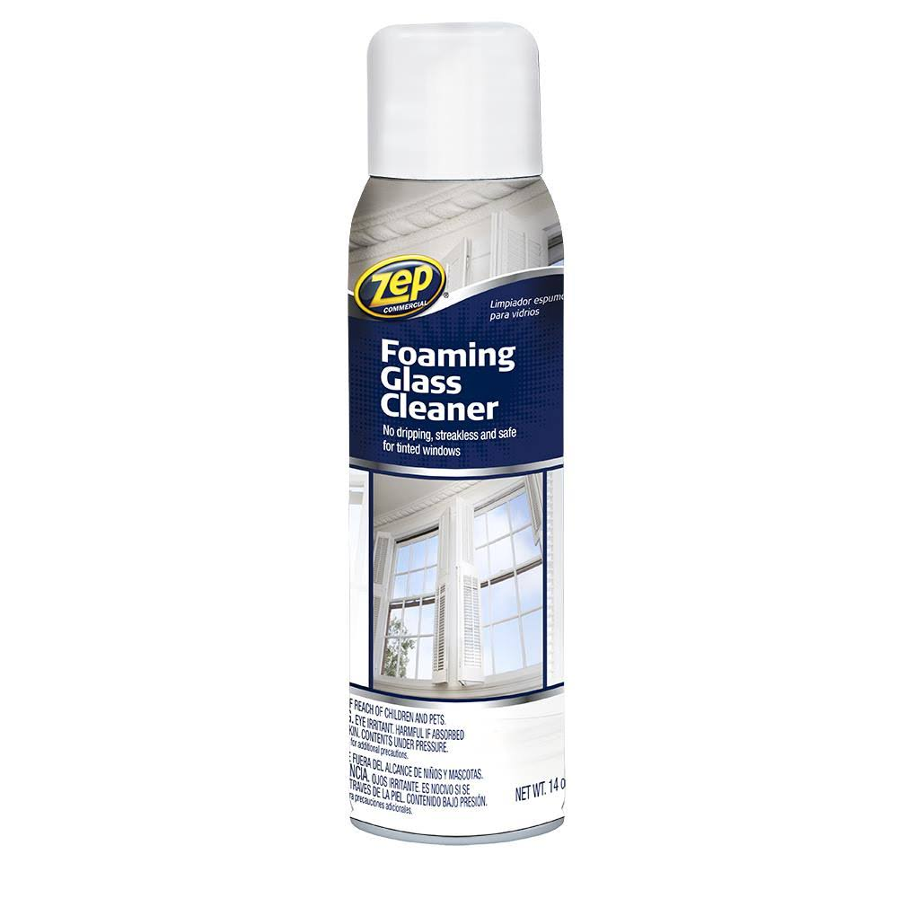 Zep Commercial Foaming Glass Cleaner - 19 oz