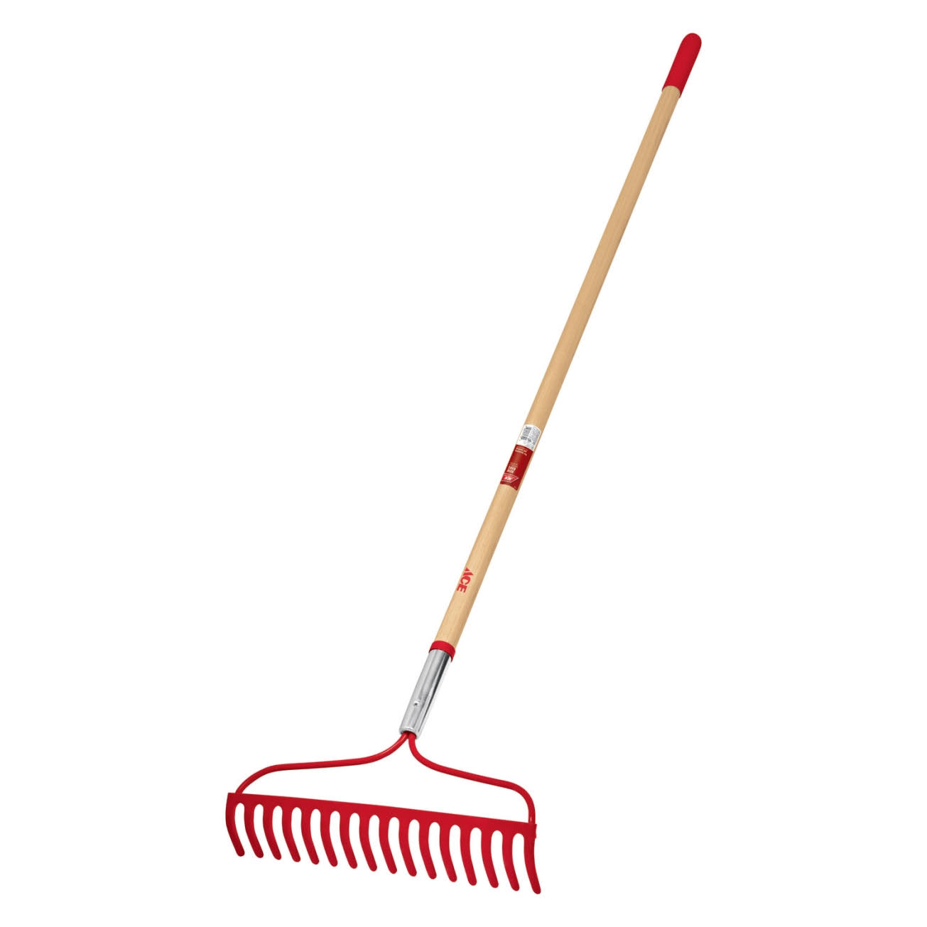 Ace 16 in. W x 47 in. L Wood Hoe/Rake(71752)