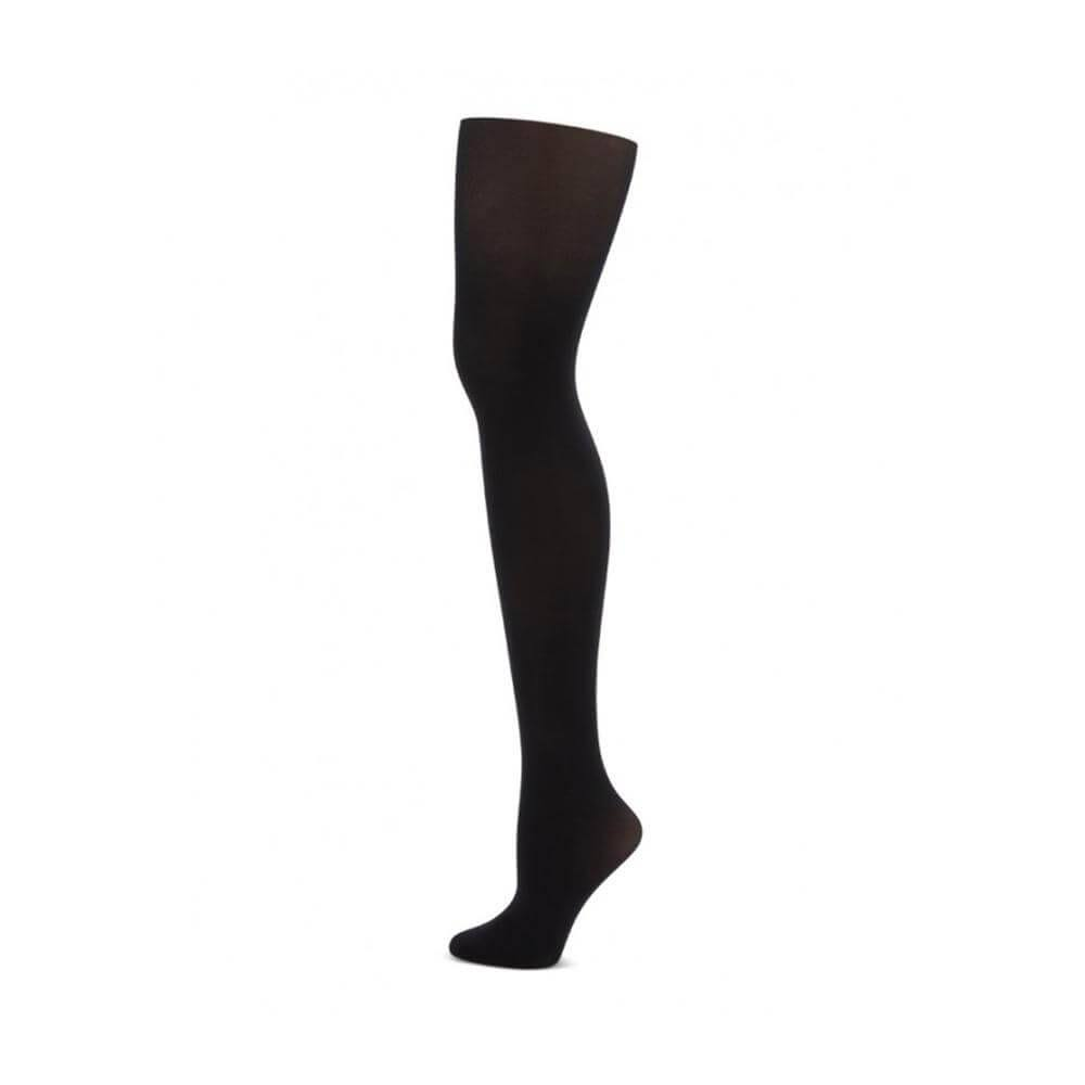 Capezio Studio Basics Footed Tight - Girls - Black