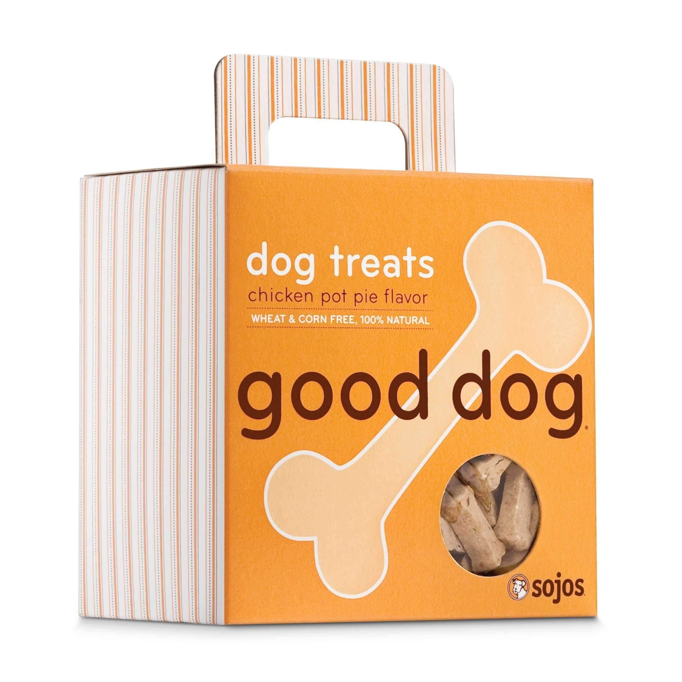 Sojos Good Dog Treats - Chicken Pot Pie