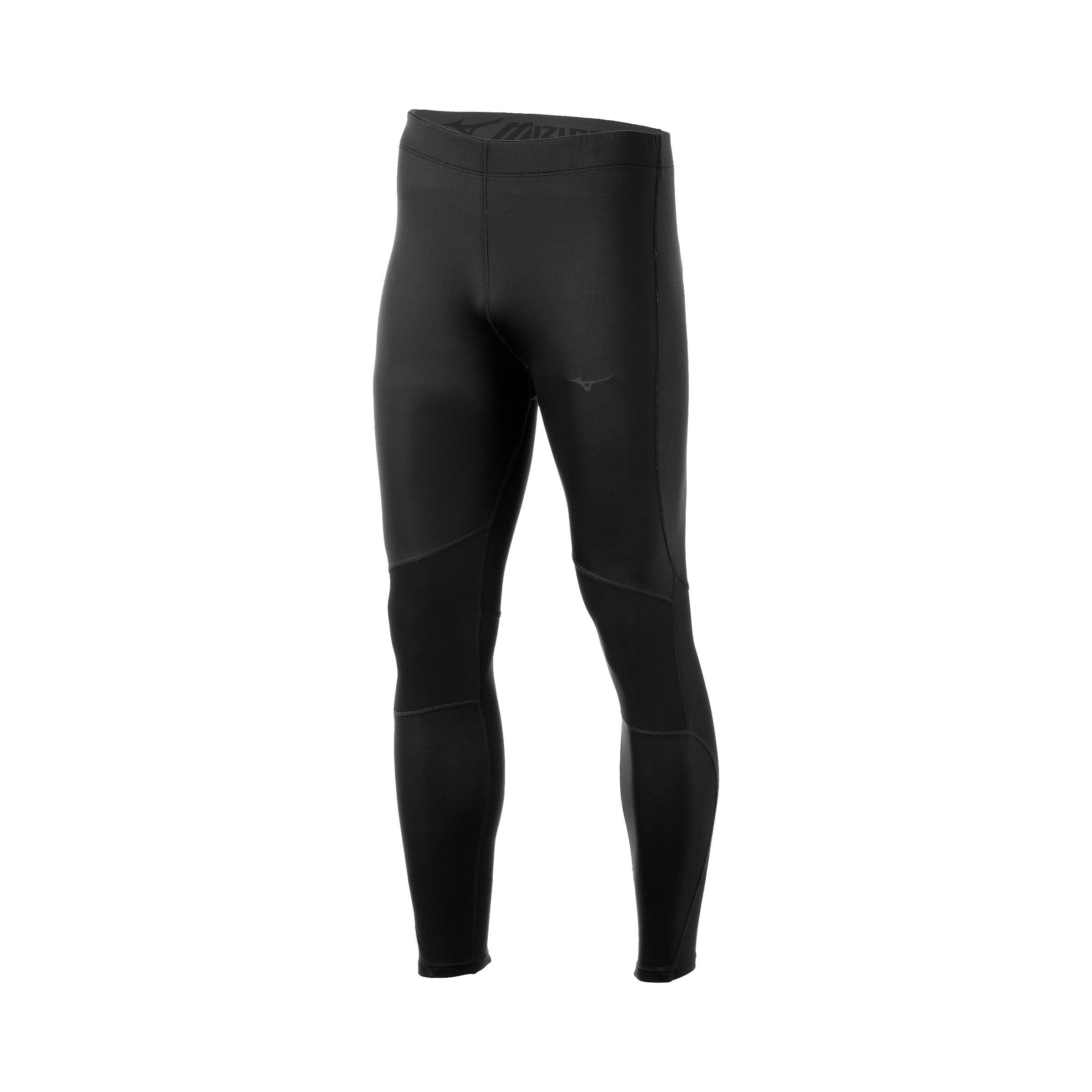 Mizuno Men's Breath Thermo Tight - Black, Medium