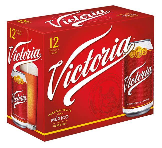 Victoria Lager Beer - 12 Pack, 12 fl oz
