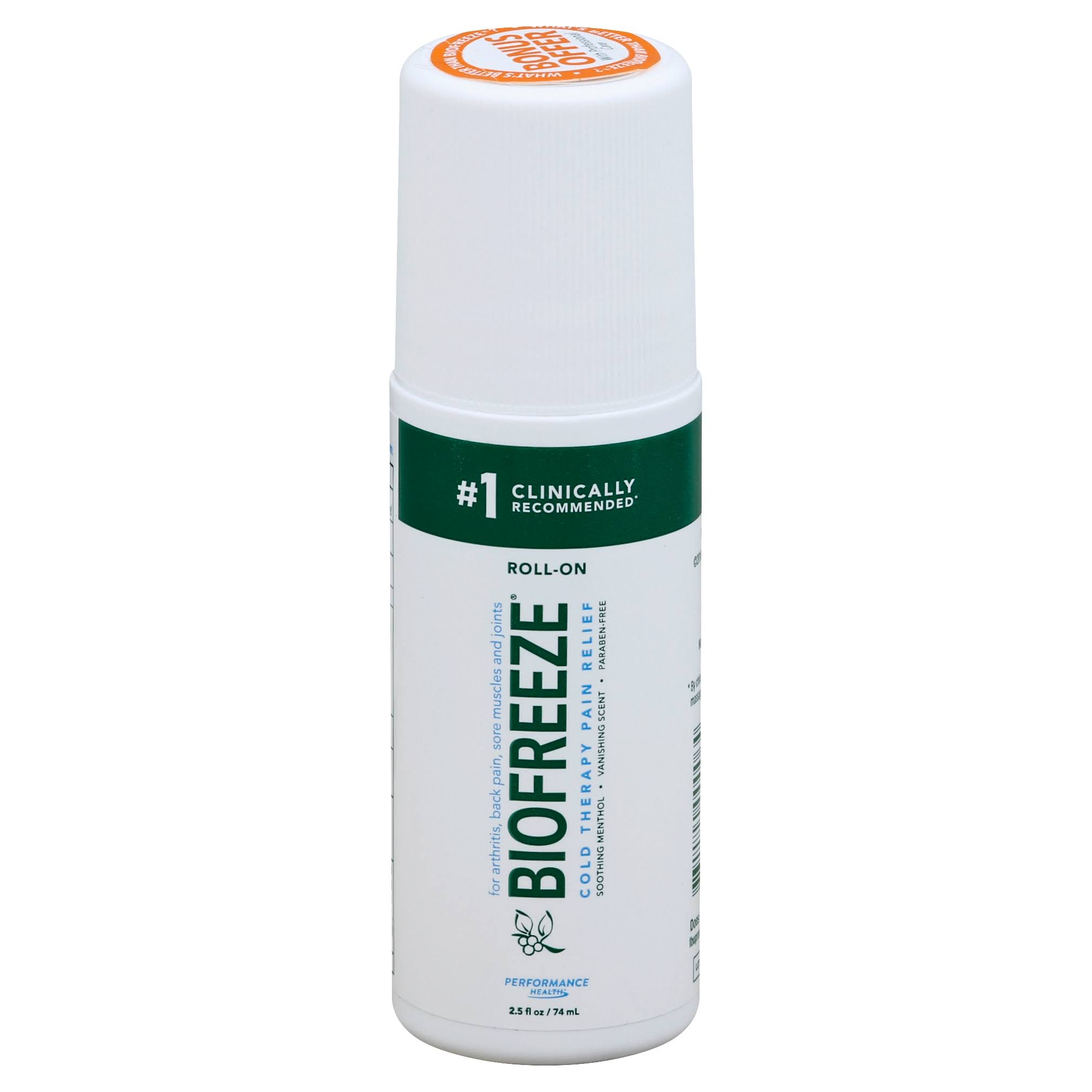 Biofreeze Cold Therapy Pain Relief Roll-On - 89ml