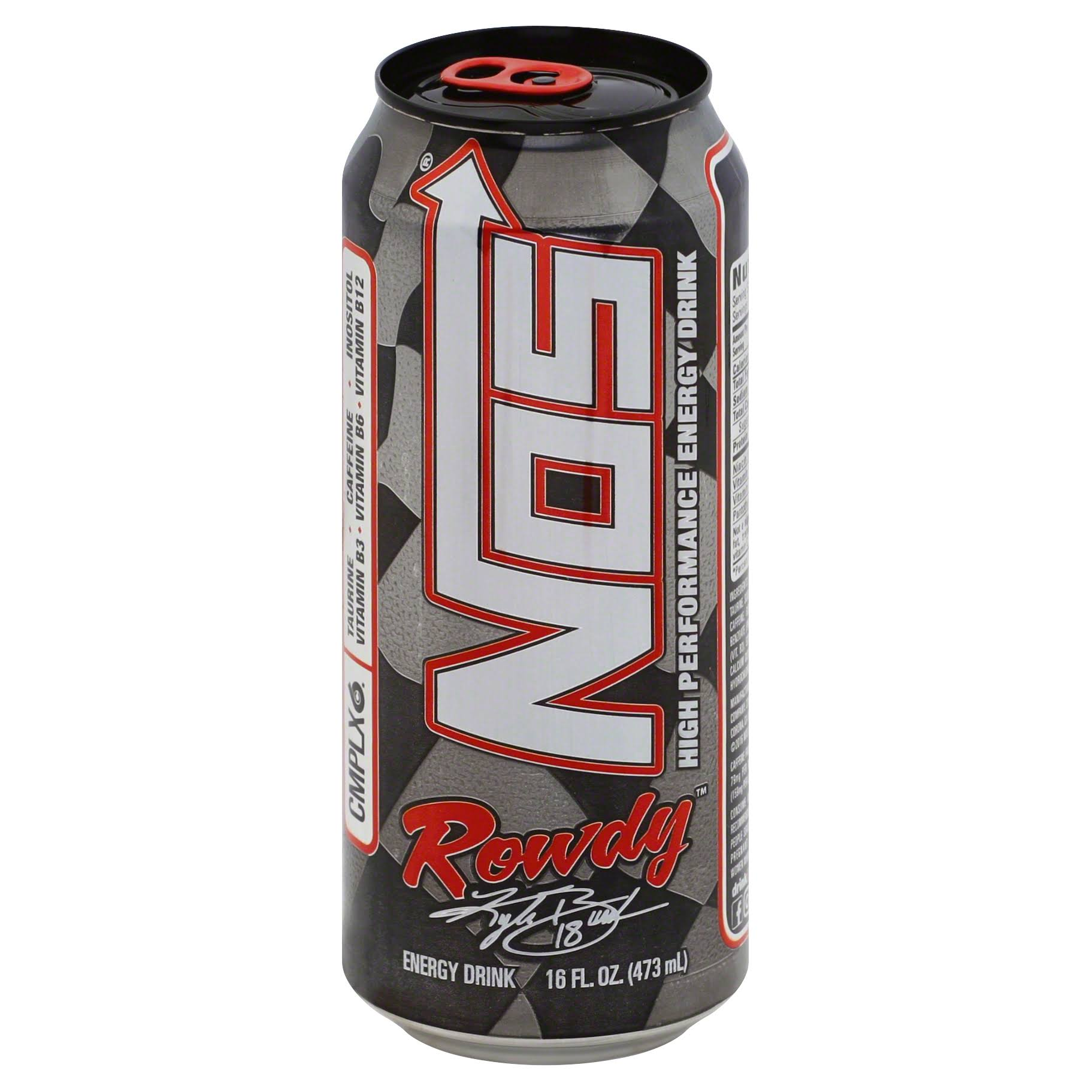 Monster Nos Energy Rowdy Drink - 473ml
