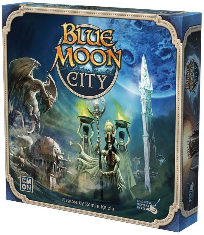 CMON CMNBMC001 Blue Moon City Board Game