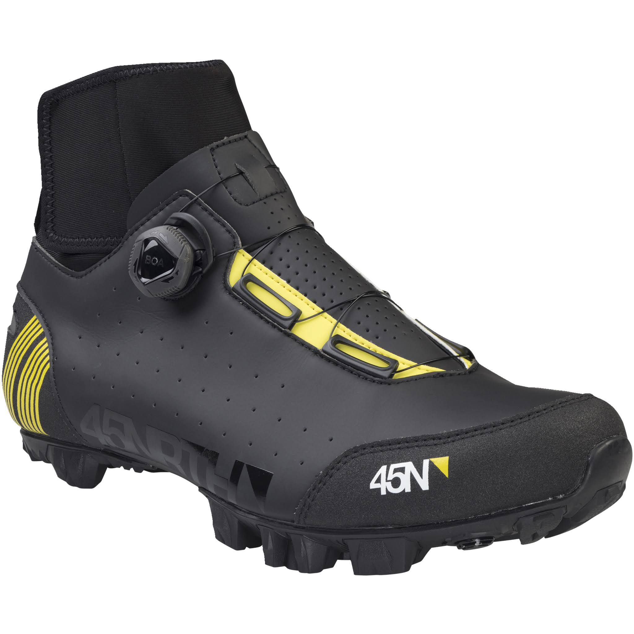45NRTH Ragnarok Cycling Boot - Black / 44