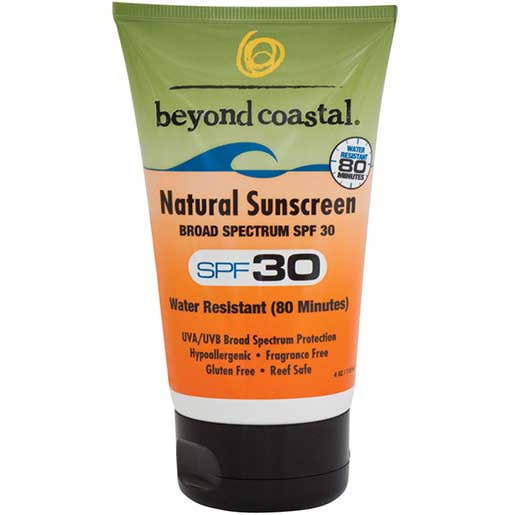 Beyond Coastal Natural Sunscreen - SPF 30, 4oz