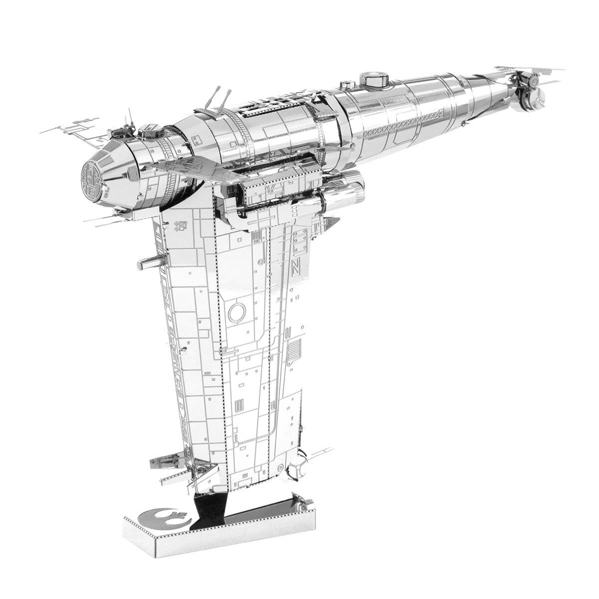 Star Wars: The Last Jedi Metal Earth Resistance Bomber Model Kit