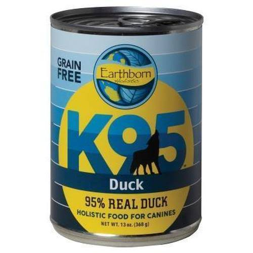 Earthborn Holistic K95 Grain Free Dog Food Duck 13 oz