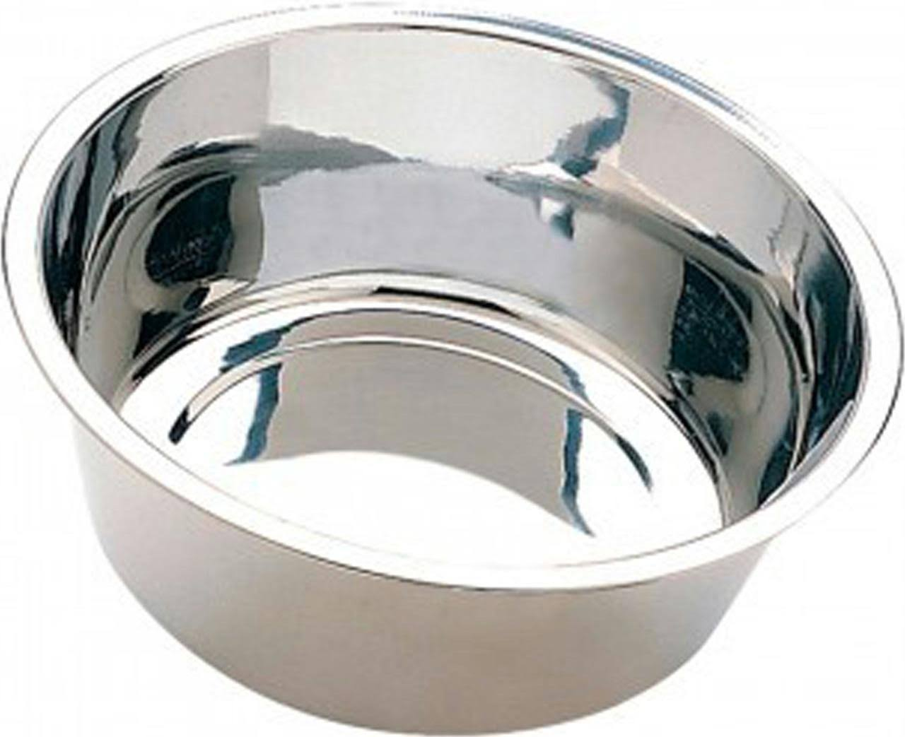 Ethical Stainless Steel Mirror Pet Dish - Stainless Steel - 3 Quart