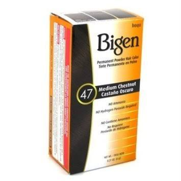 Bigen Permanent Powder Hair Color 47 Medium Chestnut