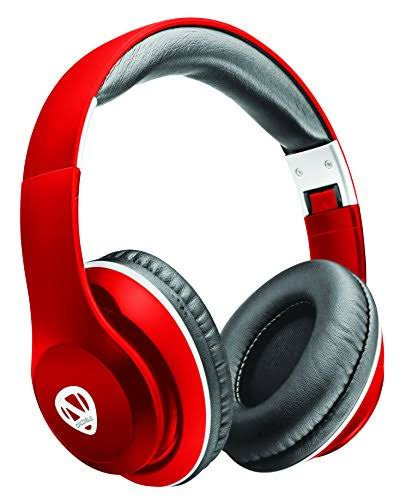 Ncredible1 Wireless Bluetooth Headphones - Red