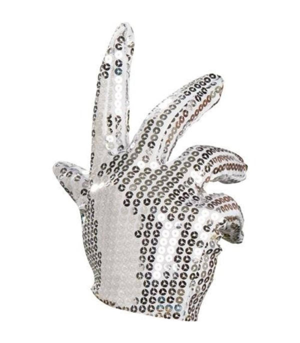 Michael Jackson Silver Child Glove