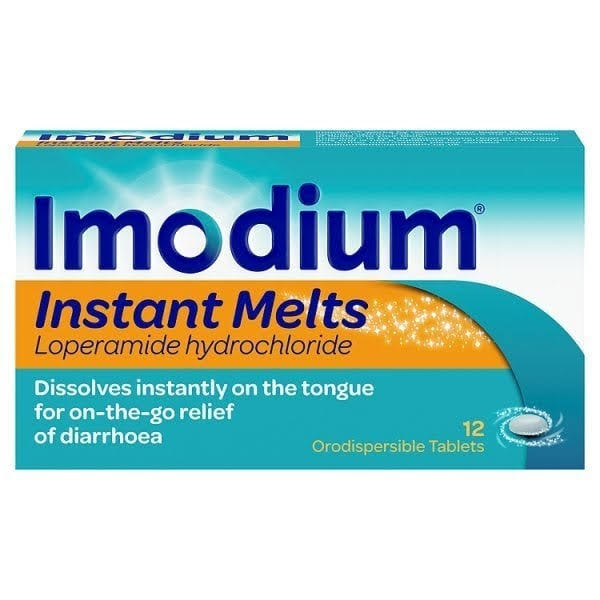 Imodium Instant Diarrhoea Melts - 12ct