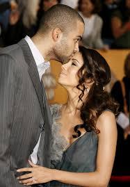 Eva and Tony Parker