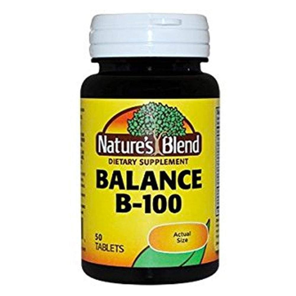 Nature's Blend Balance B-100 Dietary Supplement - 50ct