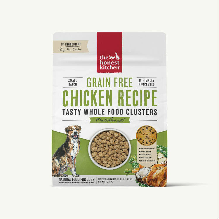 The Honest Kitchen Grain Free Chicken Whole Food Clusters, 5lb Bag
