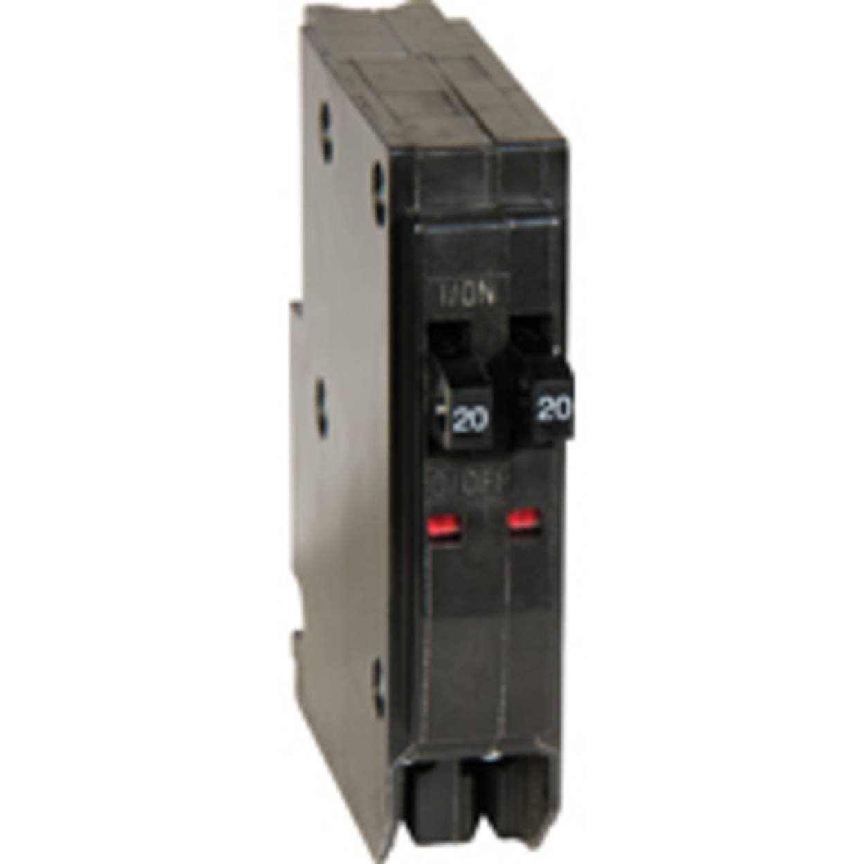 Square D QO 2-20 Amp Single-Pole Tandem Circuit Breaker