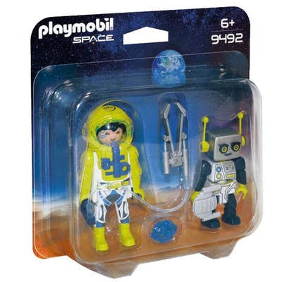 Playmobil Astronaut and Robot Duo Pack Playkit