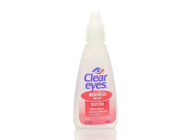 Clear Eyes Redness Relief Lubricant Redness Reliever Eyes Drops - 0.5 oz