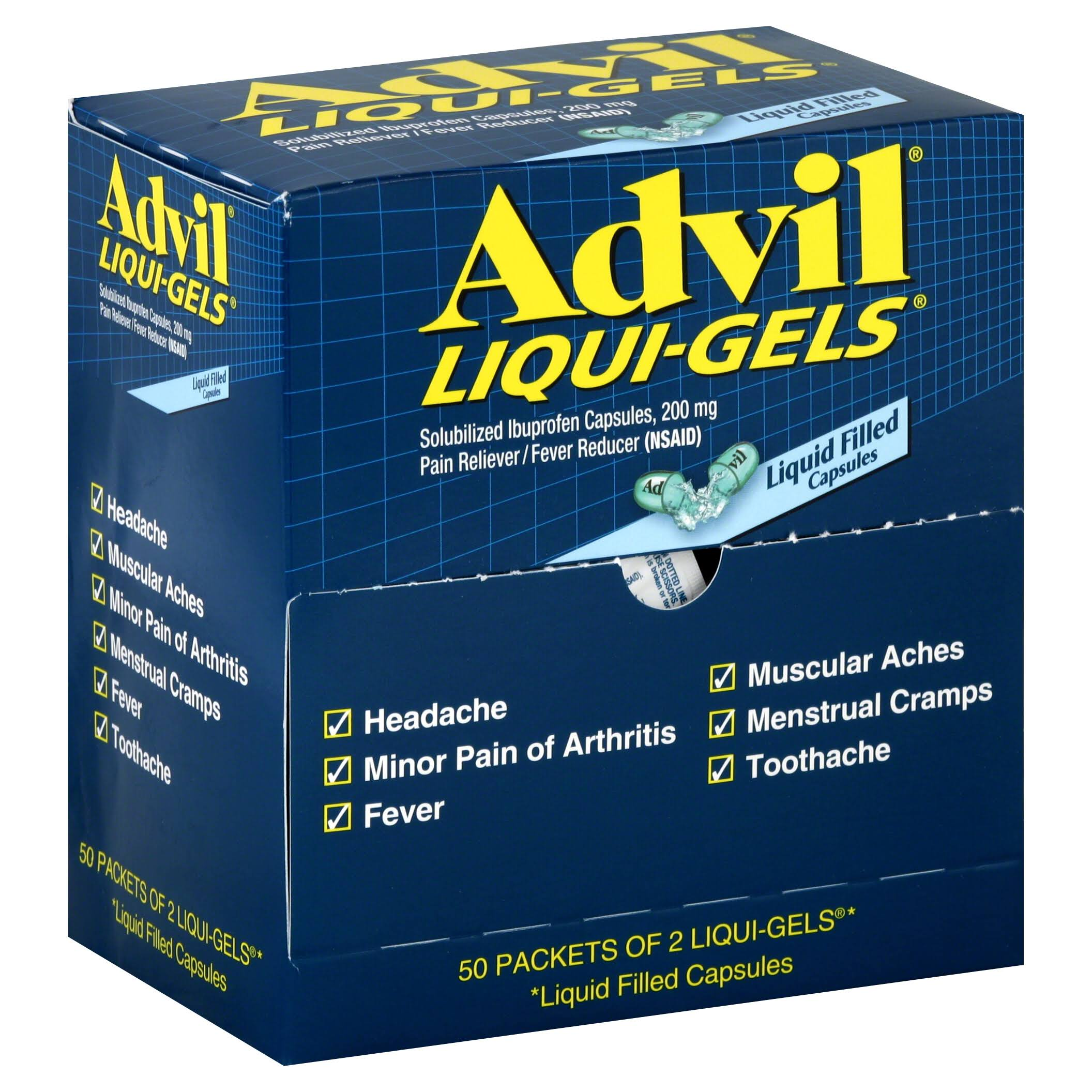 Advil Liqui-Gels Pain Reliever Refill